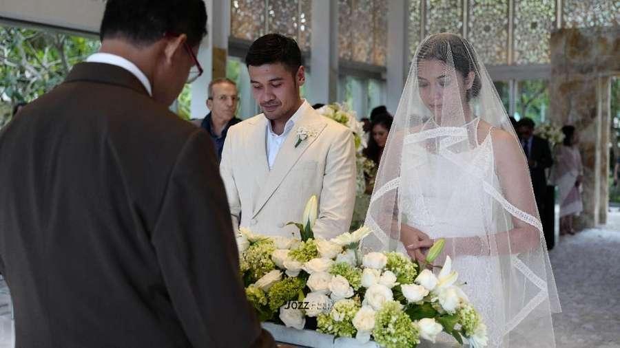 Detik-detik Chicco Jerikho dan Putri Marino Jadi Suami Istri
