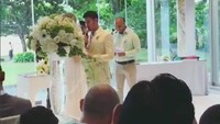 Tidak adakabar apapun sebelumnya. Isu pernikahan mereka pun baru muncul Sabtu (3/3/2018) tepat di hari keduanya menikah di Nusa Dua, Bali. Foto: Instagram