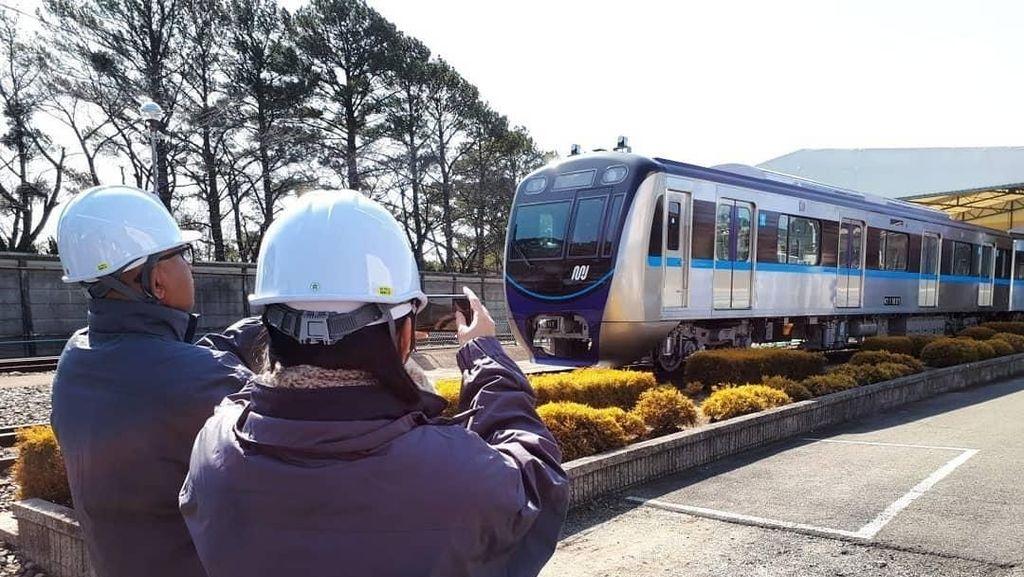 Sisa 14 Kereta MRT Jakarta Dikirim Mulai Juni dari Jepang