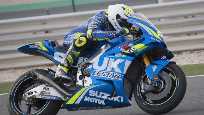 Andrea Iannone tercepat di tes MotoGP Qatar hari kedua. (Foto: Mirco Lazzari gp/Getty Images)