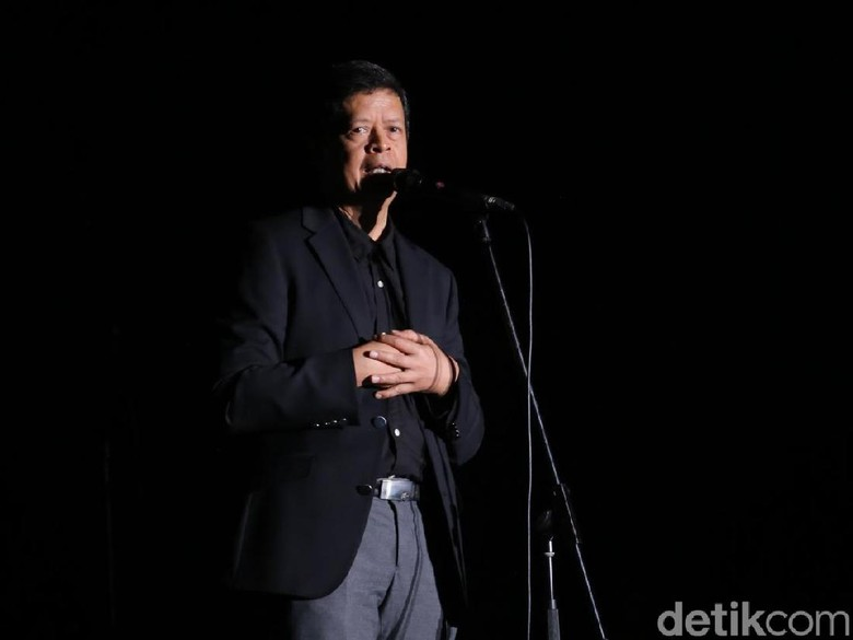 Candra Darusman Foto: Hanif Hawari/ detikHOT