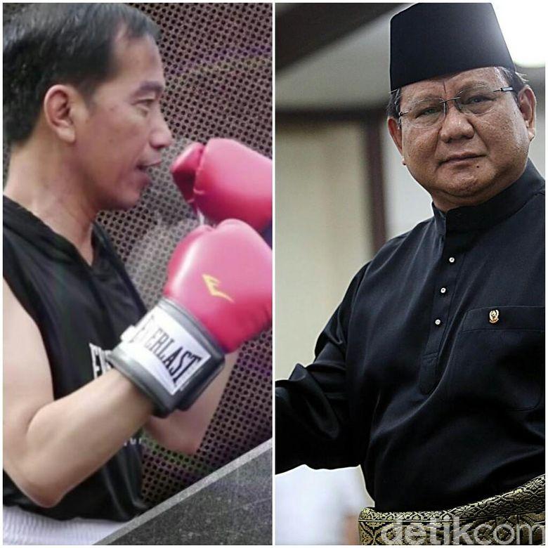 Jokowi Ma Ruf Vs Prabowo Sandiaga Di 2019