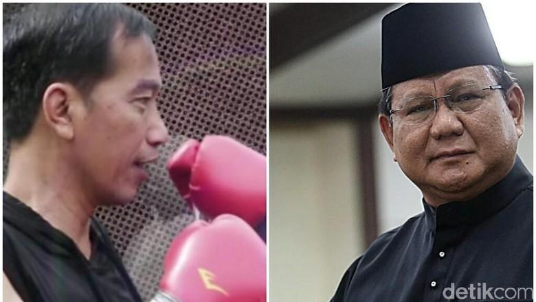 Survei RTK: Elektabilitas Jokowi 42 Persen, Prabowo 21 Persen
