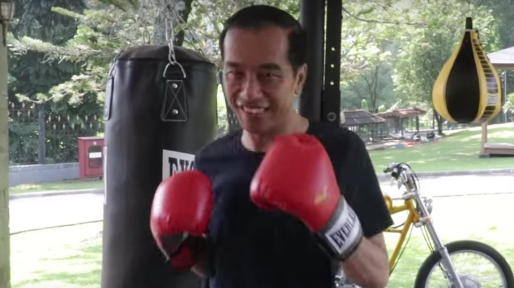 Ternyata, Jokowi Sudah 4 Bulan Latihan Tinju