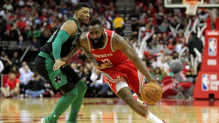 Houston Rockets kalahkan Boston Celtics untuk menang 15 gim beruntun (Erik Williams-USA TODAY Sports)