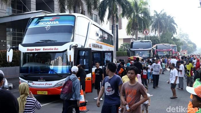 Aplikasi e-Ticketing untuk memesan tiket bus Antar Kota Anta Provinsi (AKAP) telah diluncurkan. Ini deretan bus yang dapat dipesan dengan aplikasi tersebut.