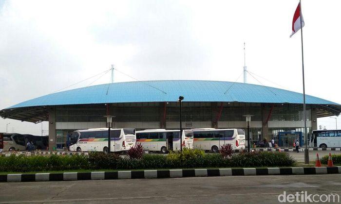 Terminal Pulogebang berdiri di atas lahan 12,5 hektare. Hendra Kusuma/detikcom.