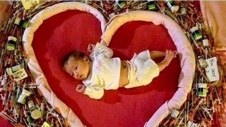 Perjuangan Ibu dengan Diabetes Tipe 1 Mengandung 4 Anaknya/ Foto: Love What Matters