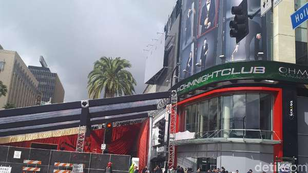 H-1 Digelar, Ini Foto-foto Persiapan Jelang Oscar 2018