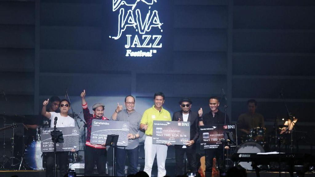 BNI dan Garuda Indonesia Beri Apresiasi Kepada Musisi di Java Jazz Festival