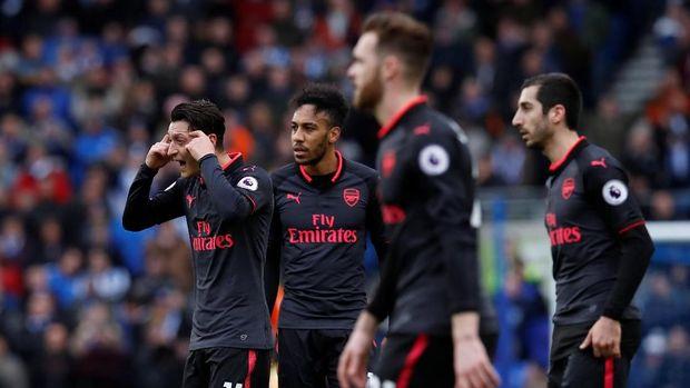Arsenal mengalami empat kekalahan beruntun sebelum menghadapi AC Milan.