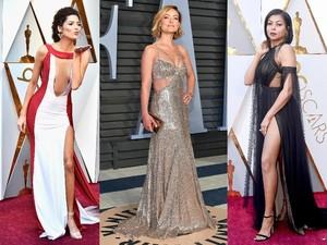 Deretan Wanita Seksi di Oscar 2018