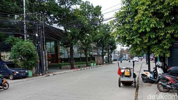 Saat Geng Motor Menyerang, Warga Lari Tinggalkan Jl Kemang Raya