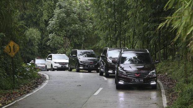 Wuling Cortez diuji coba oleh jurnalis otomotif nasional