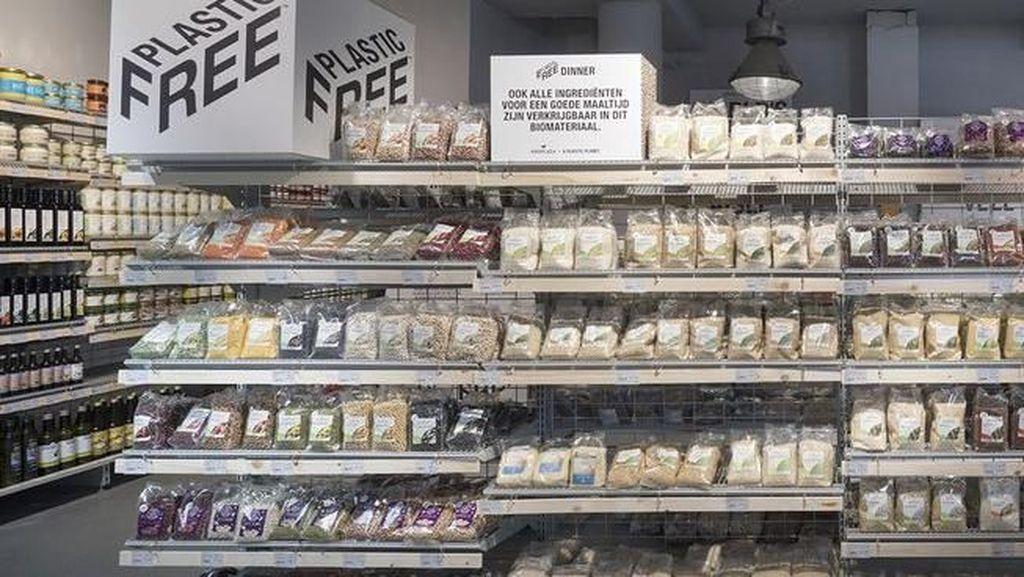Supermarket di Amsterdam Ini Punya Lorong Bebas Plastik Pertama di Dunia