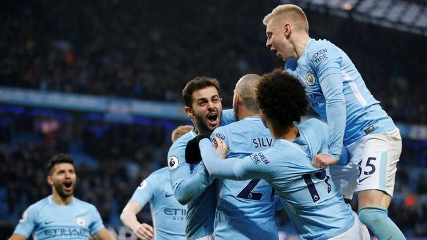 Man City menang telak 6-0 atas Chelsea di Etihad pada musim lalu.