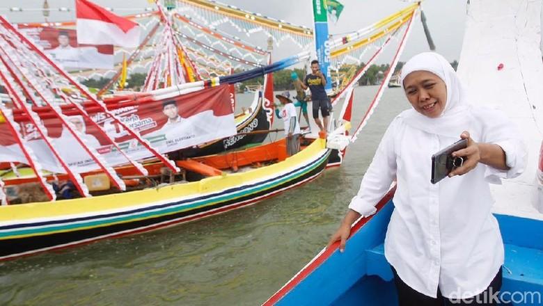 Tradisi Petik Laut di Sumenep, Khofifah Ngevlog dan Bicara Wisata