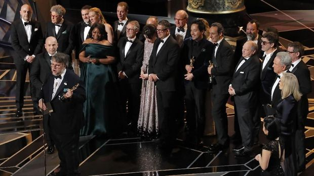 Fakta 'The Shape of Water', Film Terbaik Oscar 2018a