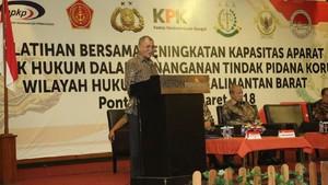 Pelatihan Bareng Penegak Hukum di Kalbar, KPK Soroti Sektor Tambang