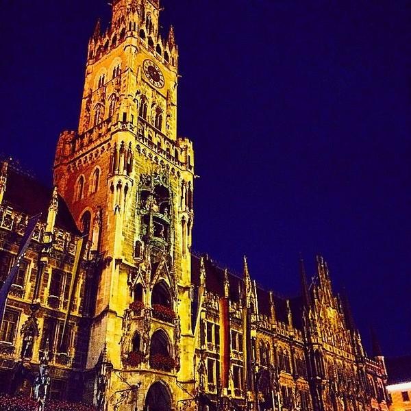 Kobe Bryant pernah plesiran ke Munich, Jerman dan memotret sudut-sudut kotanya yang artistik (kobebryant/Instagram)