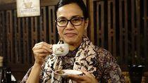 Ke Banyuwangi, Sri Mulyani Cicip Kopi Osing dan Durian Merah yang Tersohor
