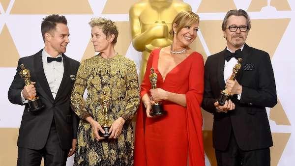 Deretan Para Juara di Oscar 2018