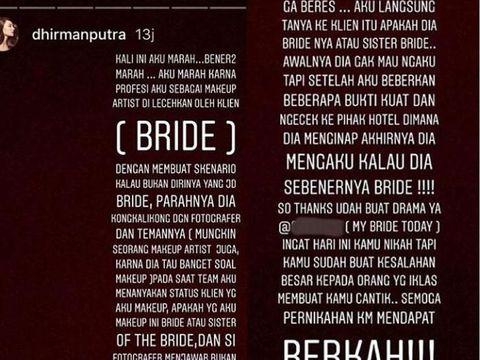 Viral Calon Pengantin Bohongi Makeup Artist Indonesia Karena Bujet Pas Pasan