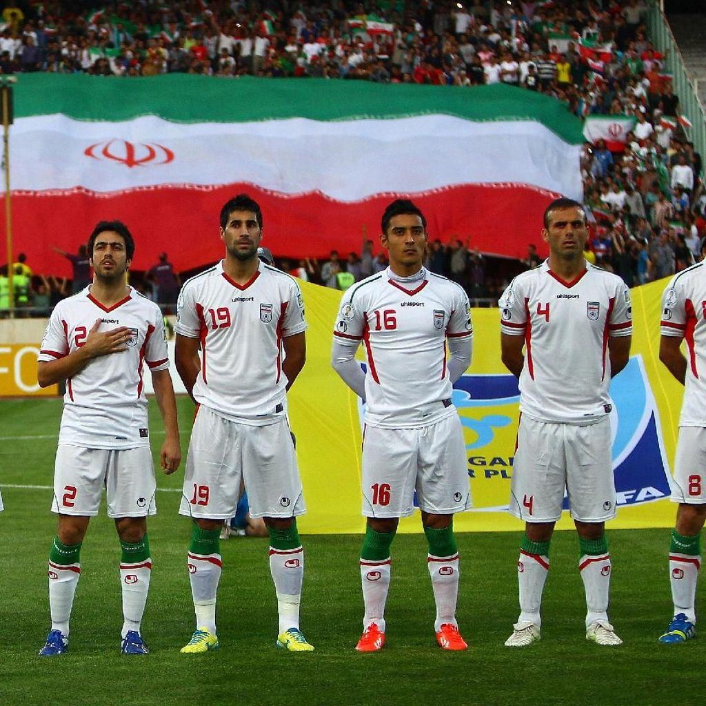 Melihat Persiapan Iran vs Maroko