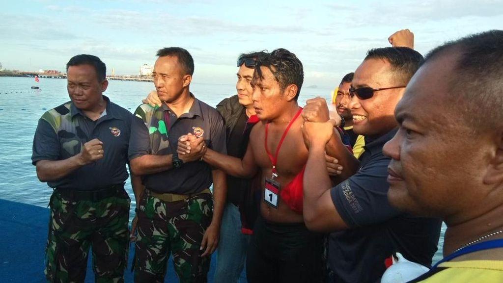 Tantangan Kopda Budi Taklukkan Selat Sunda: Jenuh hingga Ubur-ubur