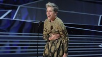 Sedangkan Best Actress diraih oleh Frances McDormand. REUTERS/Lucas Jackson.