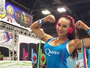 Lauren Pappas, DJ Cantik yang Juga Pegiat Fitness