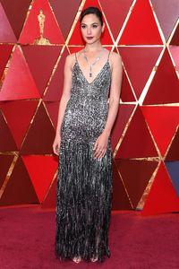 Gal Gadot di Oscars 2018.