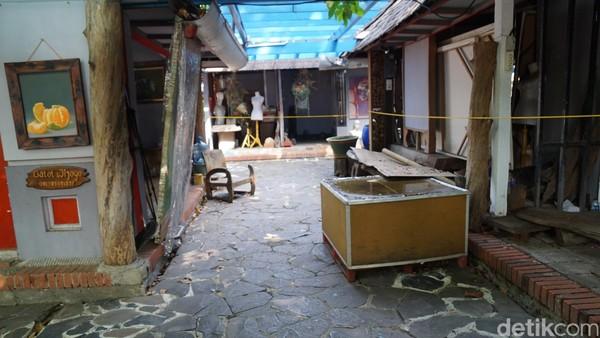 Namun, tempat ini masih menjadi primadona dan tujuan beberapa pecinta seni dan peminat lukisan (Shinta/detikTravel)