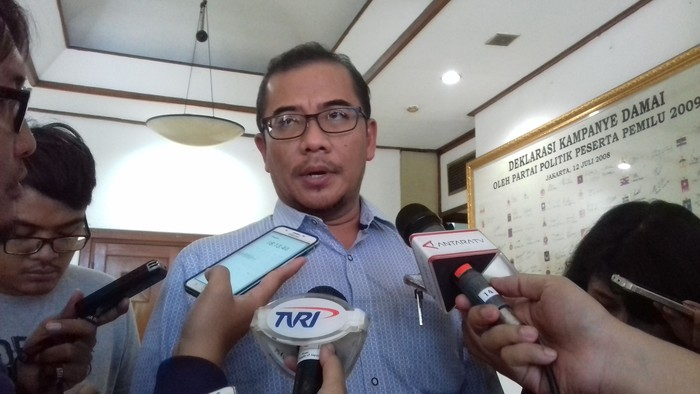 Foto: Komisioner KPU Hasyim Asyari (Dwi Andayani-detikcom)