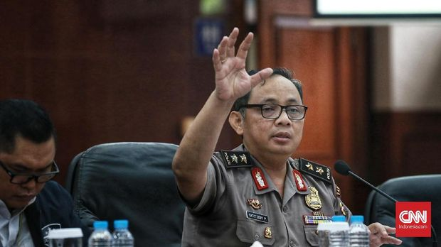Kapolda Metro Jaya Irjen Pol Gatot Eddy Pramono.
