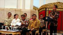 Jokowi Kumpulkan Menteri Bahas Stabilitas Keamanan dan Politik