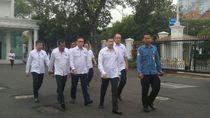 Foto: Hary Tanoe dan Pengurus Perindo Bertemu Jokowi di Istana