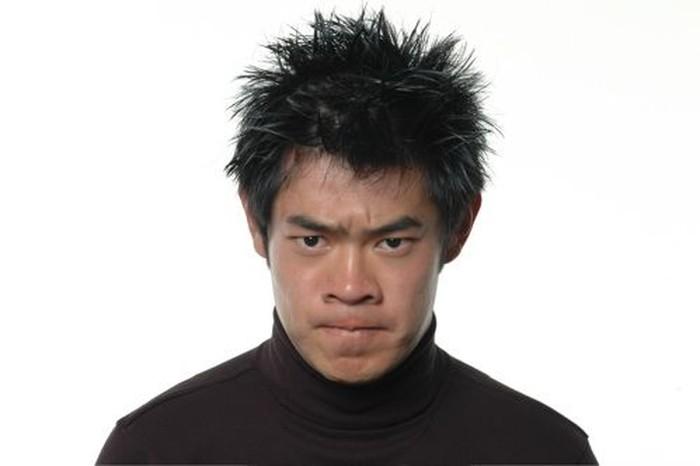 Nah kalau pria ini apakah ia sedang sedih, kesakitan, marah, atau jijik? (Foto: greatergood.berkeley.edu)
