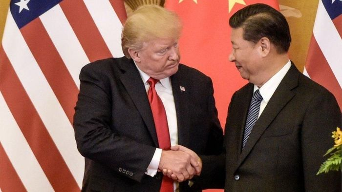 Presiden AS dan Presiden China/Foto: BBC World