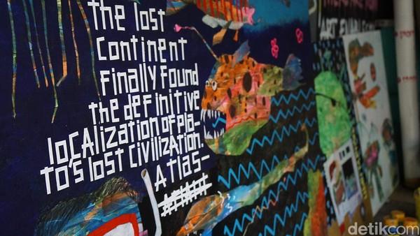 Mulai dari lukisan klasik dan modern, menghiasi sentra seni di Utara Jakarta ini (Shinta/detikTravel)