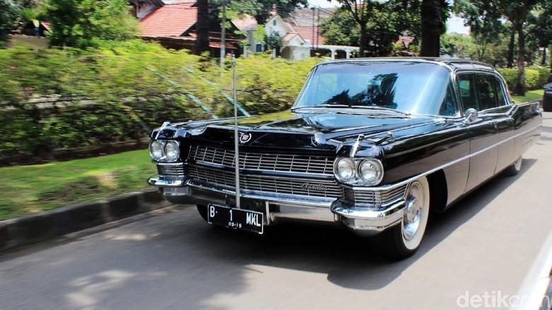 Cadillac Fleetwood Series 75 Limousine, mobil dinas terakhir Sukarno. Foto: Rangga Rahadiansyah