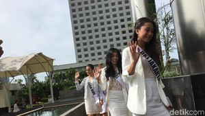 39 Finalis Puteri Indonesia 2018 Sambangi KPK