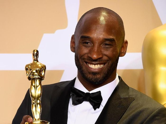 Kobe Byant memenangi Piala Oscar (Frazer Harrison/Getty Images)