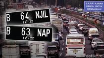 Bisakah Kamera E-TLE Awasi Mobil yang Akali Ganjil-Genap Pakai Pelat Palsu?