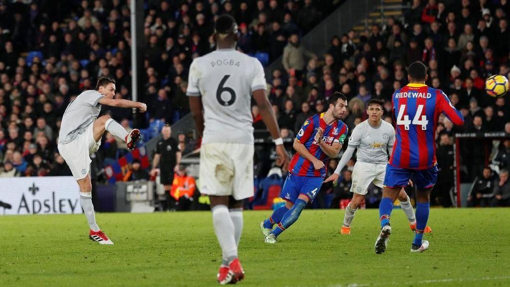 Dramatis! Gol Matic di Masa Injury Time Menangkan MU atas Palace