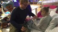 Cerita Haru di Balik Hadiah Gitar dari Ed Sheeran untuk Seorang Bocah