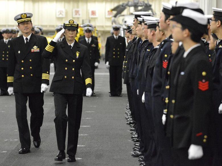 jepang tunjuk wanita jadi komandan skuadron kapal perang
