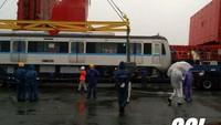 Sebelum diberangkatkan, direksi dan staff MRT Jakarta kembali melakukan pengecekan akhir pada akhir Februari lalu. Pool/MRT Jakarta.
