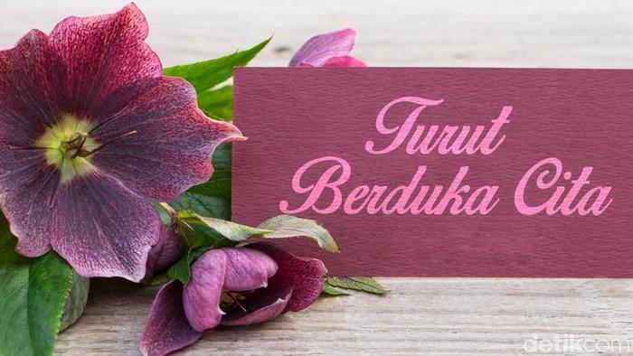 Ilustrasi karangan bunga