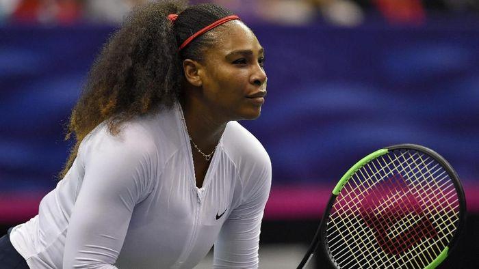 Serena Williams menargetkan tiga gelar dari tiga grand slam tersisa di tahun 2018 (Foto: Richard Shiro/Getty Images)